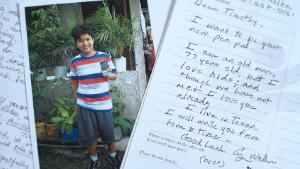 George H.W. Bush secretly sponsored a Filipino child for 10 years. Read some of the letters they sent each other